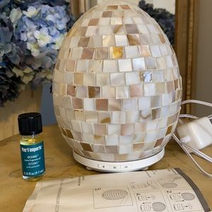 Mother of Pearl essential oil diffuser.  NWOB